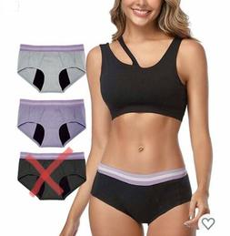 2 INTIMATE PORTAL Absorbent Period/ Incontinent Panties Leak