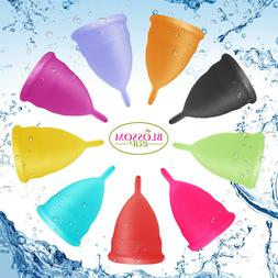 Blossom Menstrual Cup All Colors and Sizes. Love it or Money