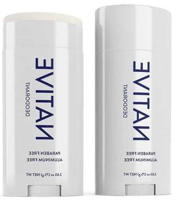 NATIVE DEODORANT UNSCENTED SCENT ALUMINUM FREE LONG LASTING