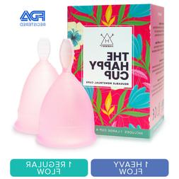 happy cup menstrual cups tampon and pad