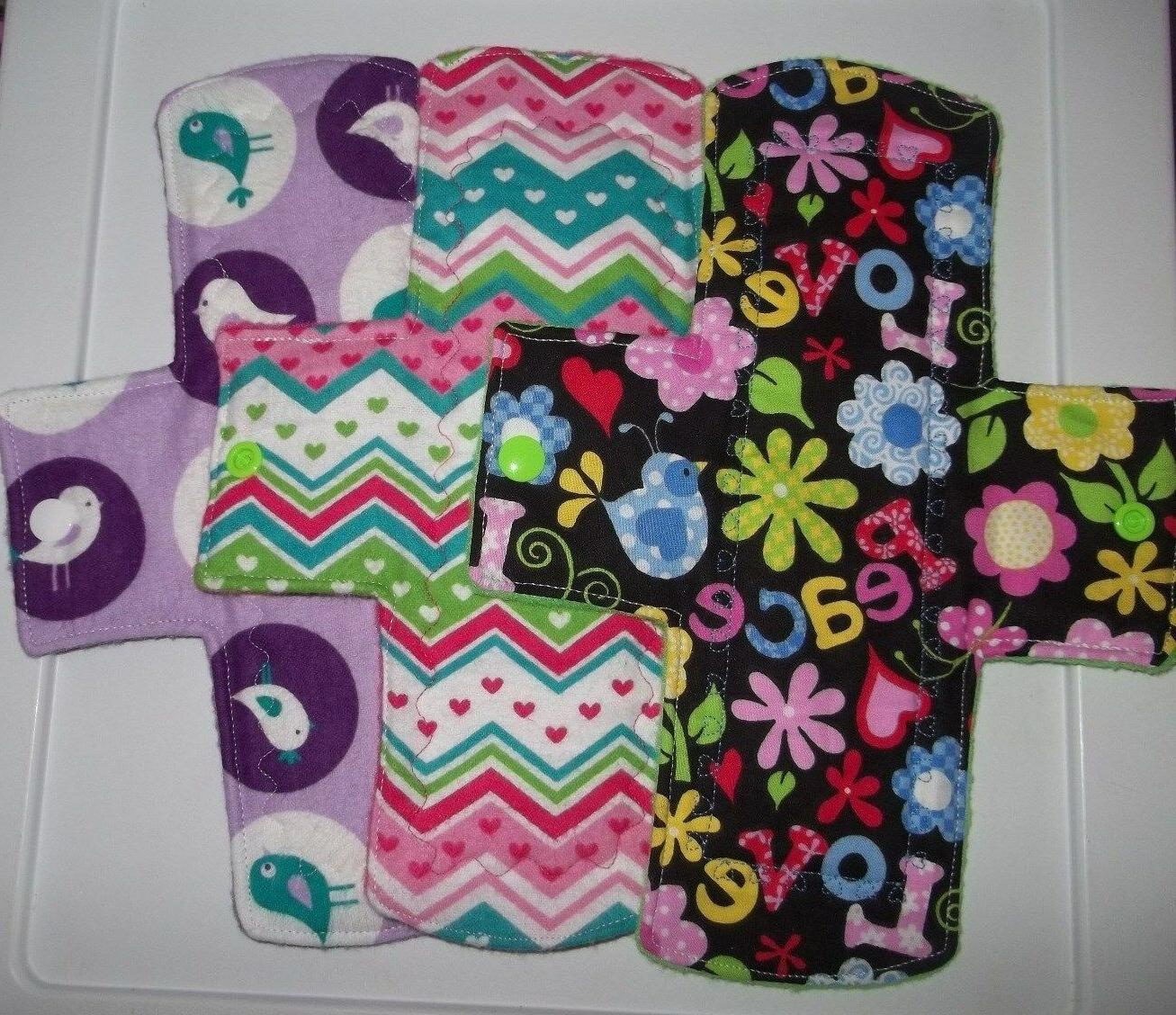 cloth menstrual pad 10 with pul you