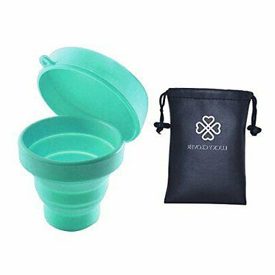 Collapsible Silicone Foldable for Travel