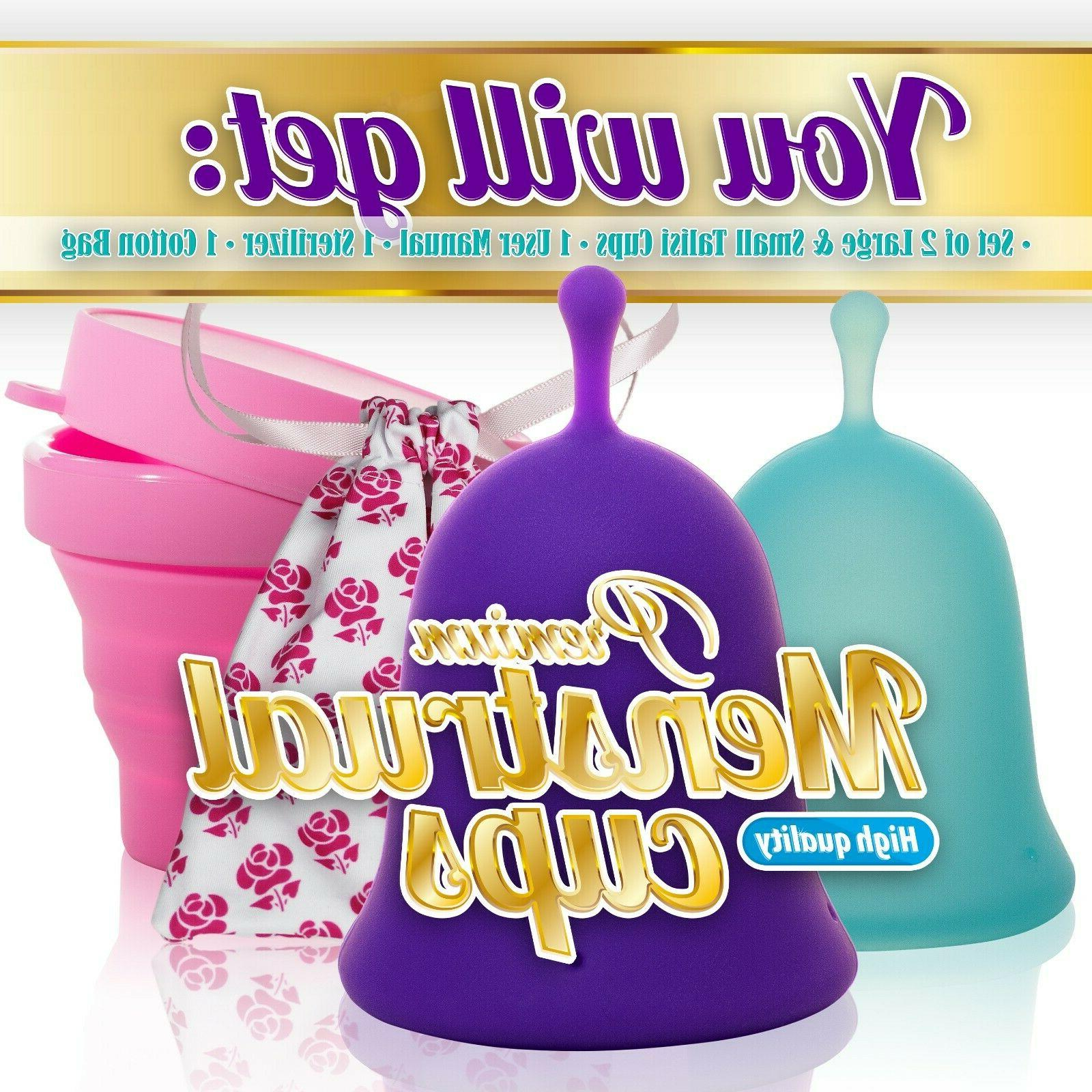Talisi Menstrual with Collapsible Foldable Sterilizing Cup