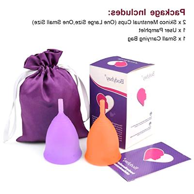 Menstrual Feminine Cup Alternative Protection to Tampons Clo
