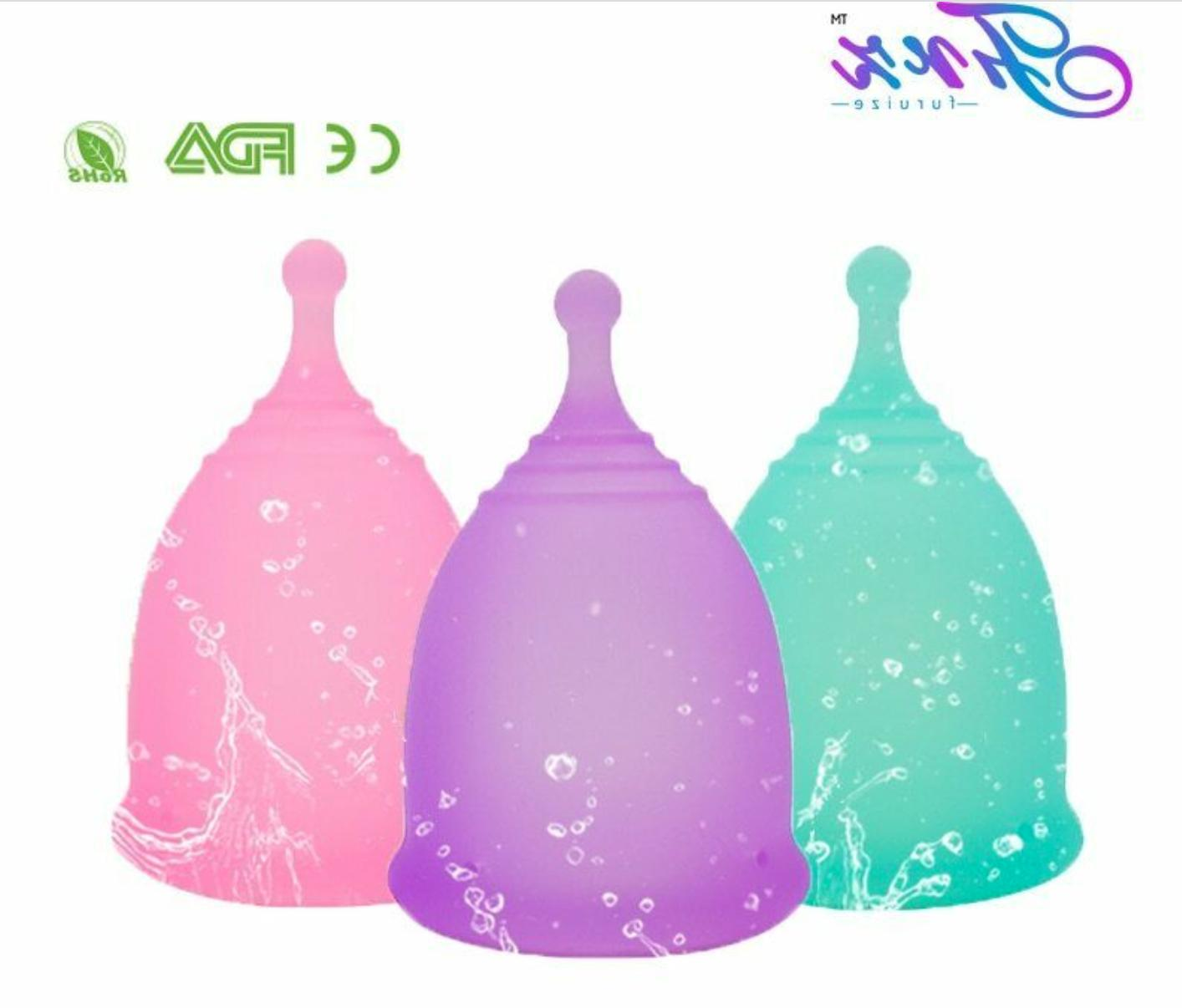 new style sport menstrual cup 100 percent