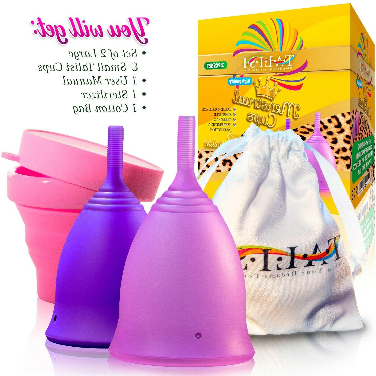 Talisi Small Large & Silicone