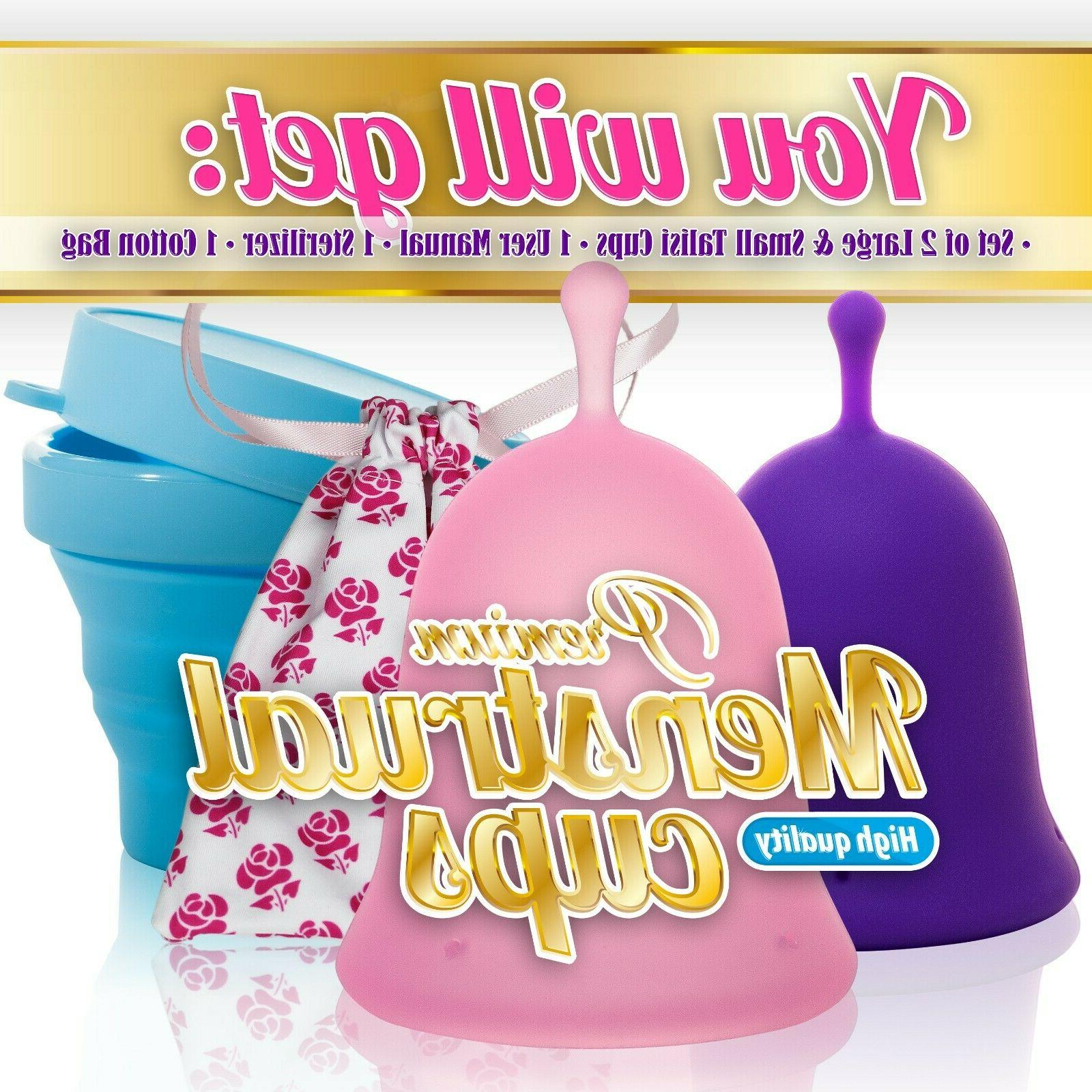 Talisi Menstrual Collapsible Silicone Period Cup