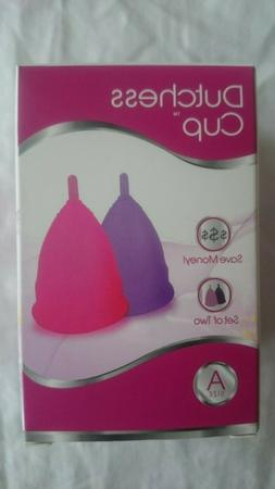 Dutchess Menstrual Cups Set of 2 with Free Bag - Best Femini