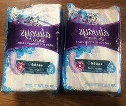 Always Discreet Pads Heavy Long 5 Damaged Packs