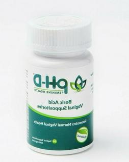 pH-D Feminine Health Support Boric Acid Vaginal Suppositorie