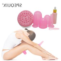SPEQUIX Silicone Vacuum Massage Cupping Kit Facail&Body Anti