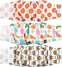 Wegreeco Washable Male Dog Diapers Small, Magic with Hook &